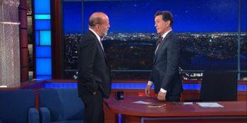 Bruce Willis, show cu pumni în direct