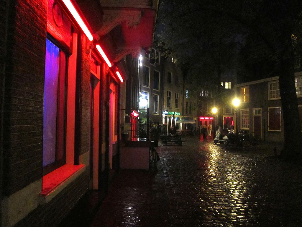 Red Light District, Amsterdam. Foto de Anjaneyadas, Wikipedia.