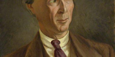 Bertrand Russell.Pictură de Roger Fry, 1923. Sursă Wikipedia.