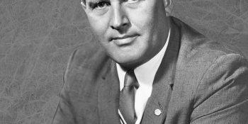 Wernher von Braun. Autor foto NASA/Marshall Space Flight Center, Wikipedia.