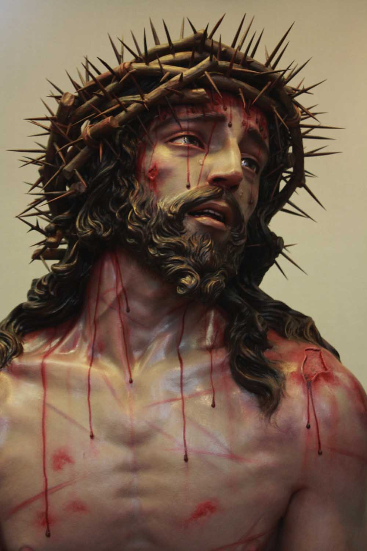 Iisus plânge sânge