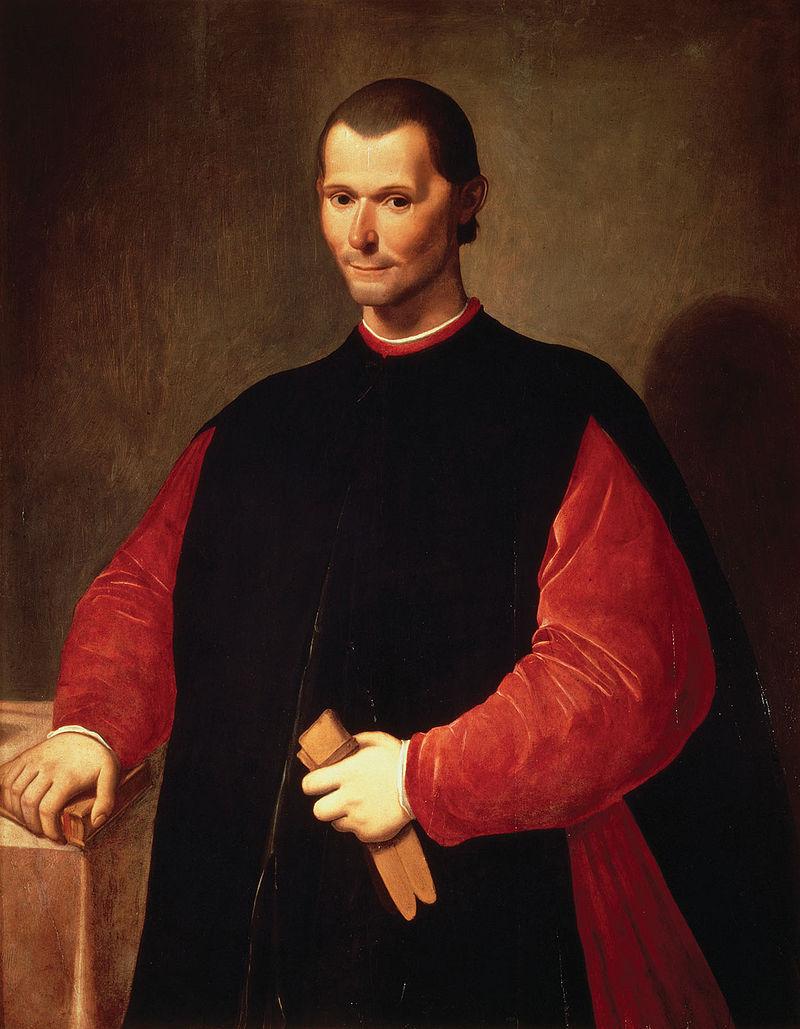 Niccolò Machiavelli despre cel ajuns într-o poziţie