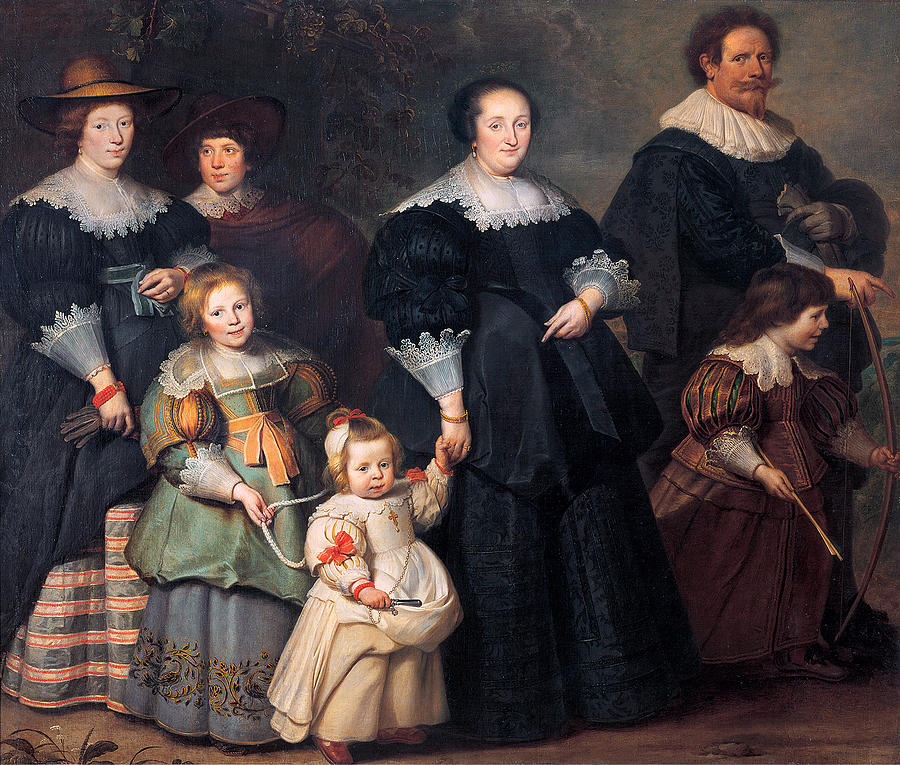 self-portrait-of-the-artist-with-his-wife-suzanne-cock-and-their-children-cornelis-de-vos