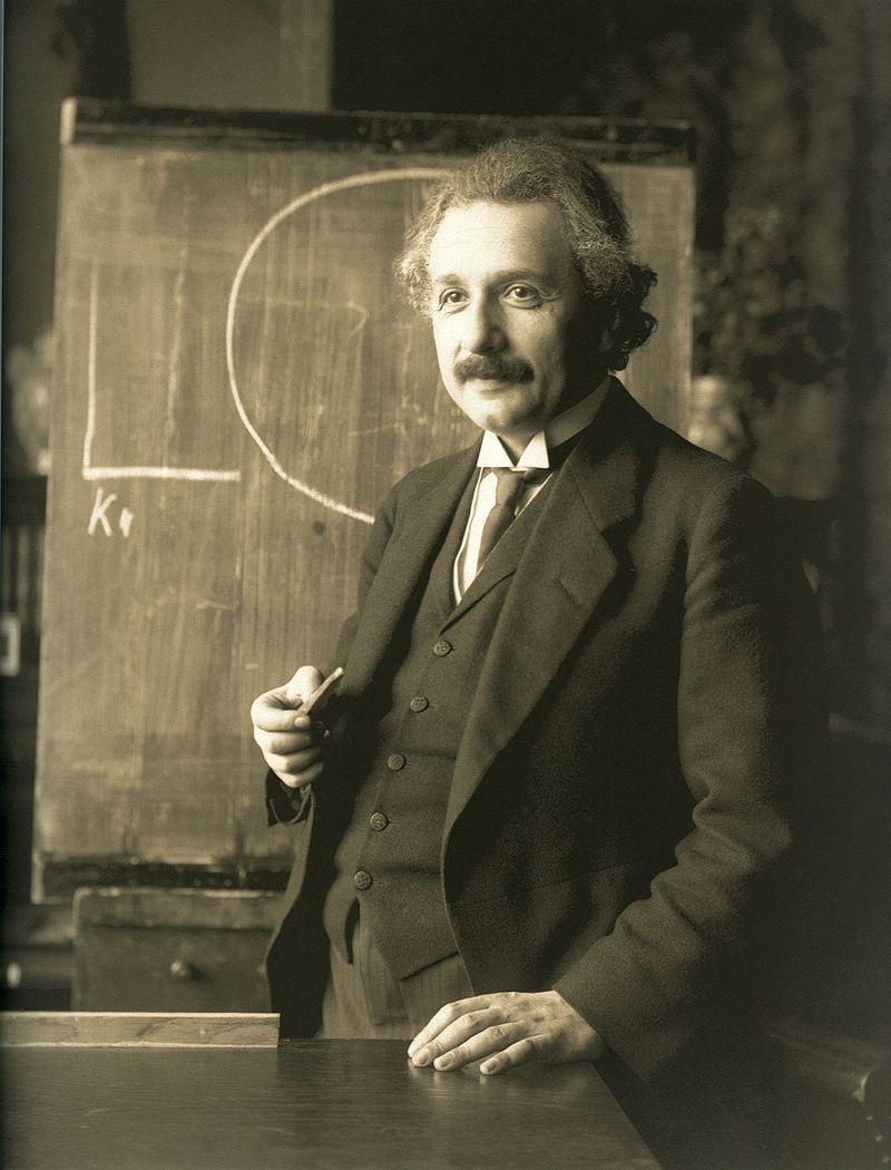 Albert Einstein despre nebunie